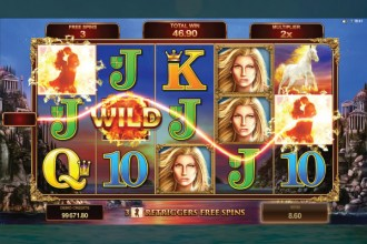 Titans Of The Sun Theia Slot Free Spins