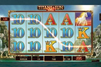 Titans Of The Sun Theia Slot Reels