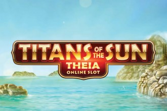 Titans Of The Sun Theia Slot Logo