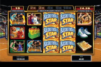 Basketball Star Slot Free Spins