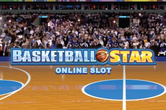 Basketball Star Slot Logo