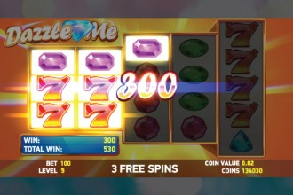 Dazzle Me Slot Free Spins