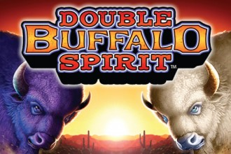 Double Buffalo Spirit Slot Logo