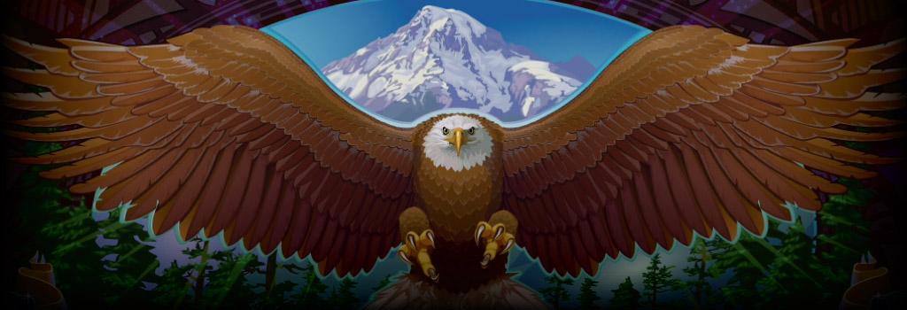 Eagle's Wings Background Image