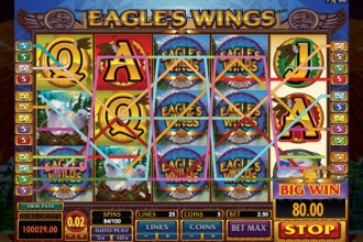 Eagles Wings Slot Big Win