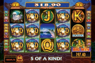 Eagles Wings Slot Free Spins Win