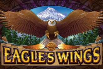 Eagles Wings Slot Logo