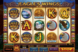 Eagles Wings Slot Reels