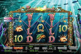 Enchanted Mermaid Slot Wilds
