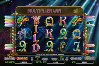 Enchanted Mermaid Slot Free Spins Win