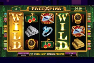 High Society Slot Free Spins Wilds Reels