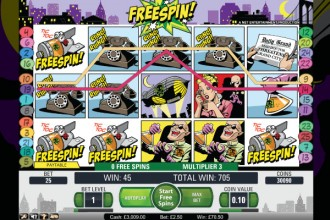 Jack Hammer Slot Free Spins Win
