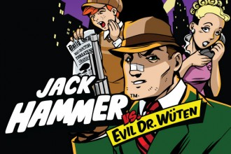 Jack Hammer Slot Review Logo