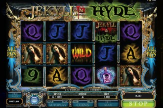 Jekyll and Hyde Slot Reels