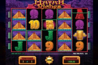 Mayan Riches Slot Free Spins