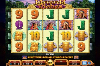 Mayan Riches Slot Reels
