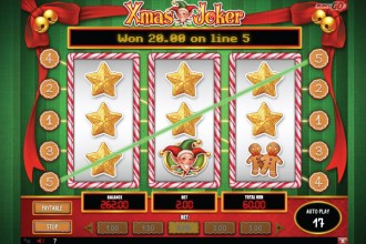 Xmas Joker Slot Big Win