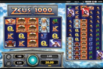 Zeus 1000 Slot Wilds