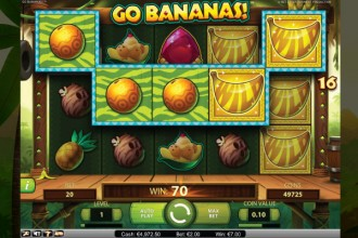 Go Bananas Slot Win