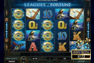 Leagues Of Fortune Slot Big Win