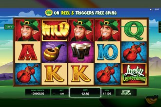 Lucky Leprechaun Slot Reels