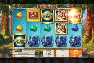 Razortooth Slot Reels