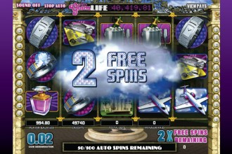 The Glam Life Slot Free Spins