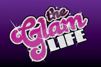 The Glam Life Slot Logo