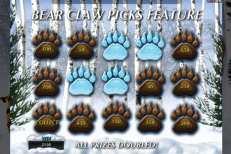 Tiger VS Bear Slot Bear Claw Bonus