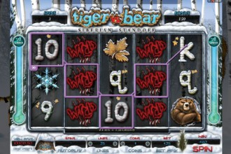 Tiger VS Bear Slot Free Spins
