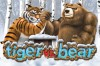 Tiger VS Bear Slot Logo
