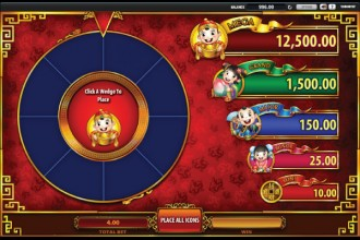 Wishing You Fortune Slot Festive Wheel