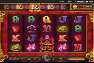 Wishing You Fortune Slot Reels