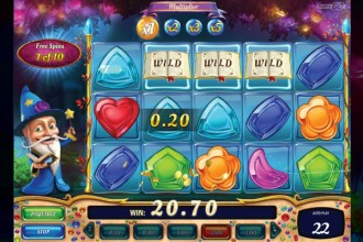 Wizard of Gems Slot Wilds Win
