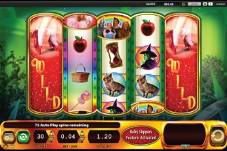 Wizard of Oz Slot Ruby Slippers Bonus