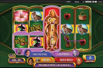 Wizard of Oz Slot Ruby Slippers Free Spins Bonus
