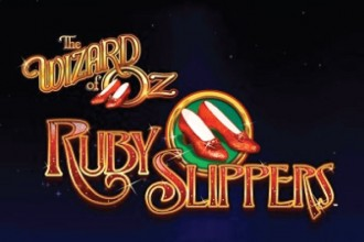 Th Wizard of Oz Ruby Slippers Slot Logo