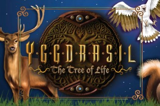 Yggdrasil The Tree Of Life Slot Logo