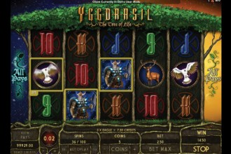 Yggdrasil The Tree Of Life Slot Reels