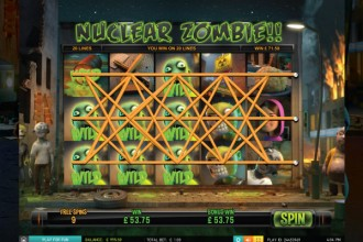 Zombie Rush Slot Free Spins