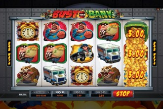 Bust The Bank Online Slot Reels