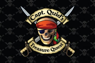 Capt. Quid's Treasure Quest Slot Logo