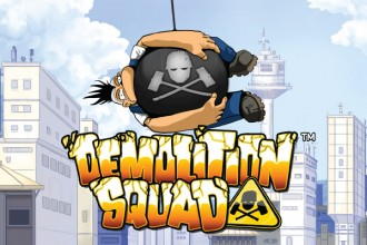 Demolition Squad Slot Logo