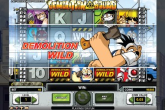 Demolition Squad Slot Wilds
