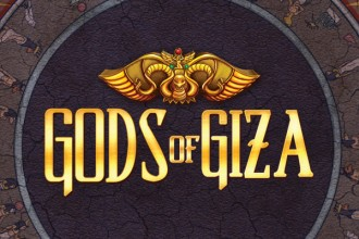 Gods of Giza Slot Logo