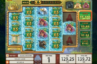 Hidden Valley Slot Free Spins Win