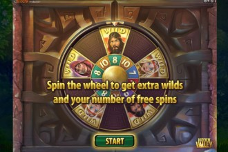 Hidden Valley Slot Bonus Wheel
