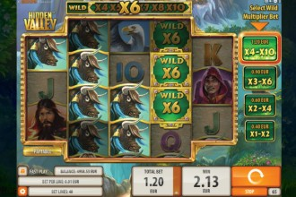 Hidden Valley Slot Reels