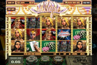 Mr Vegas Slot Reels