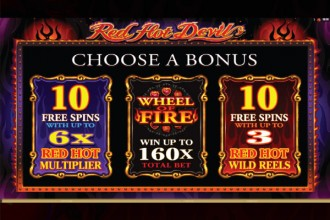 Red Hot Devil Slot Bonus Games